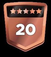 20+ ratings