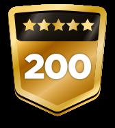 200+ ratings