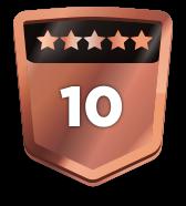 10+ ratings