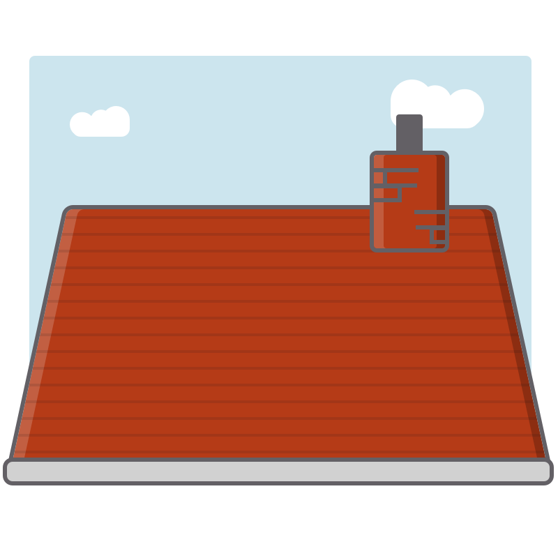 roofer illustration